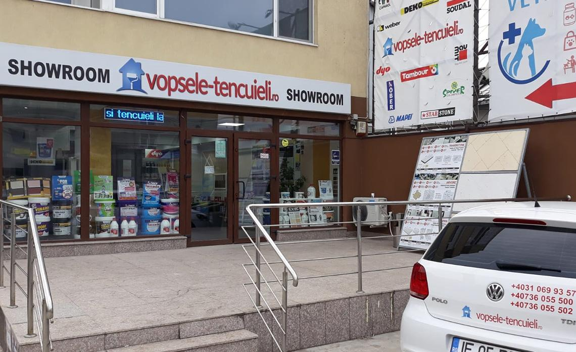 showroom vopsele-tencuieli.ro Popesti-Leordeni