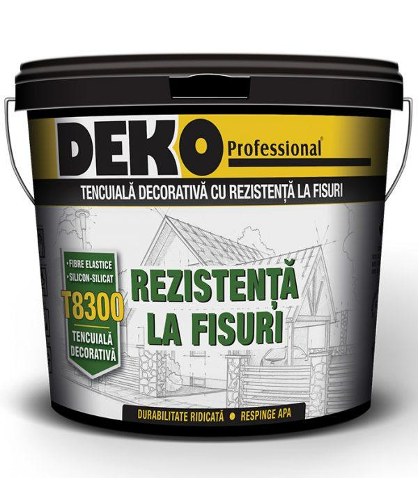 DEKO T8300 tencuiala decorativa cu silicon-silicat si fibre