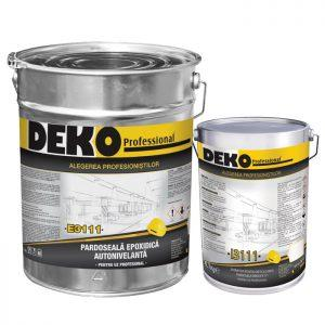 DEKO E3111+I3111 pardoseala epoxidica autonivelanta