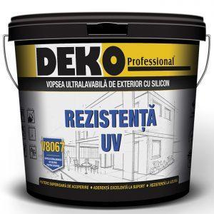 DEKO V8067 vopsea ultralavabila cu siliconpentru exterior