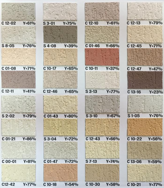 Paletar Tencuiala Decorativa.Duraziv Standard Cu Silicon Tencuiala Vopsele Tencuieli Ro