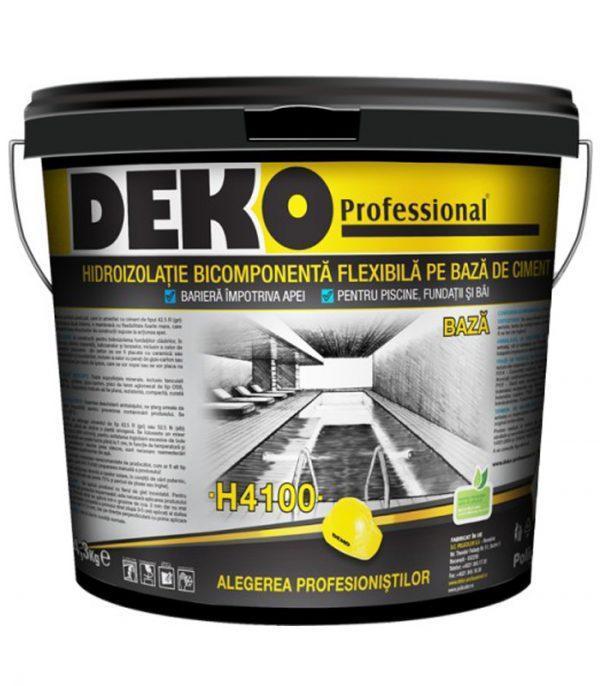DEKO H4100 Hidroizolatie flexibila bicomponenta