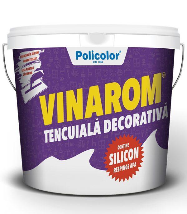 VINAROM tencuiala decorativa cu SILICON