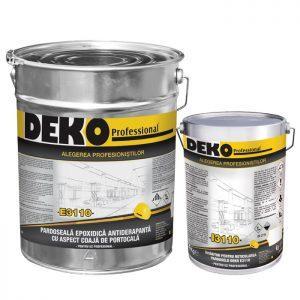pardoseala epoxidica antiderapanta cu aspect coaja de portocala Deko E3110