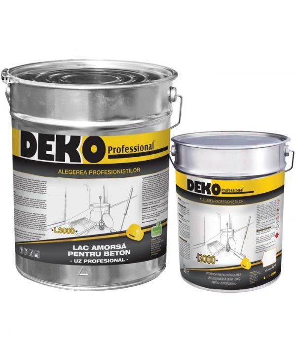 DEKO L3000+I3000 amorsa epoxidica