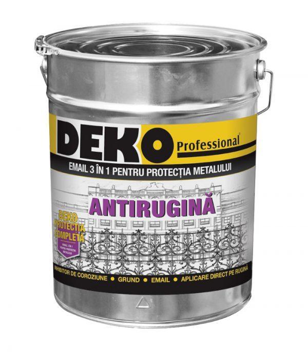 email profesional 3 in 1 pentru protectia metalului Deko protectia completa 3 in 1 antirugina