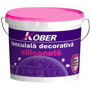 Kober Tencuiala decorativa siliconata