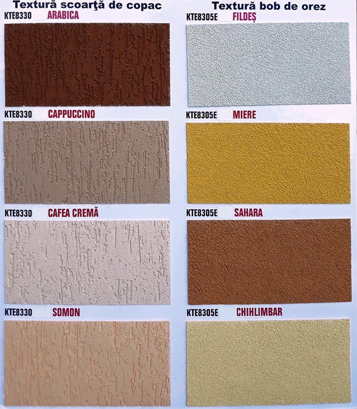 Paleta De Culori Tencuiala Decorativa.Kober Tencuiala Decorativa Siliconata Vopsele Tencuieli Ro