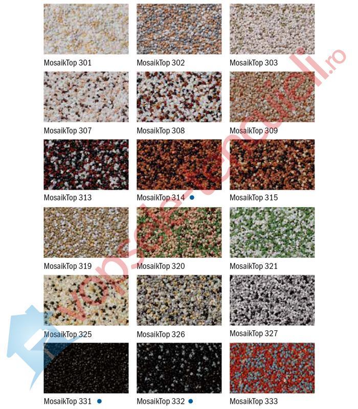 Paleta De Culori Tencuiala Decorativa.Baumit Mosaiktop Tencuiala Decorativa Mozaic Vopsele Tencuieli Ro