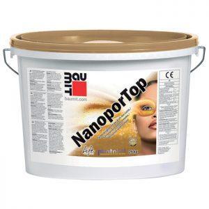 Tencuiala decorativa cu efect de autocuratare Baumit NanoporTop