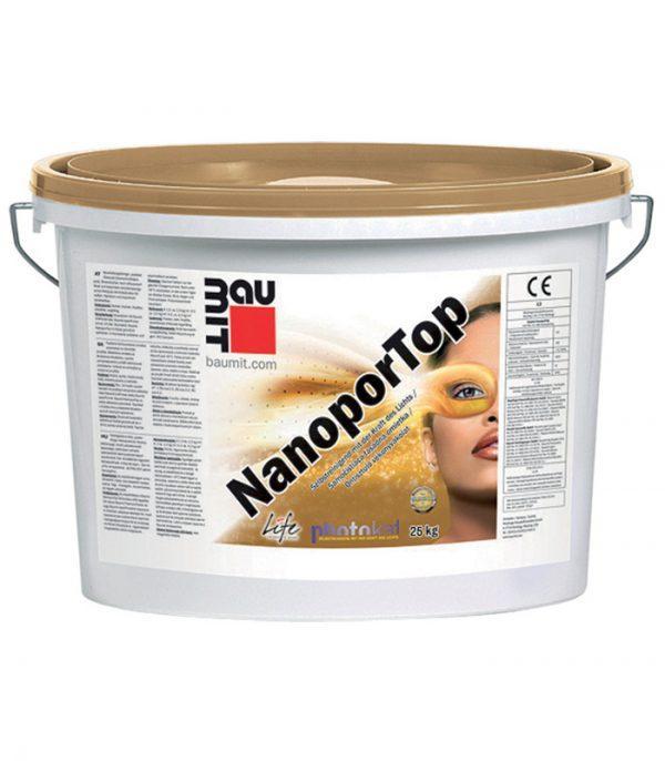 Baumit NanoporTop - Tencuiala decorativa cu efect de autocuratare