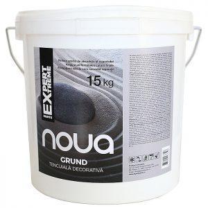 Grund tencuiala decorativa NOUA - reduce gradul de absorbtie al suportului si asigura uniformitatea culorii finale