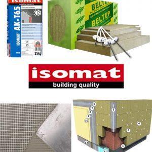 termosistem vata minerala bazaltica ISOMAT