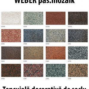 Tencuiala Decorativa Weber.Weber Pas Mozaik Tencuiala Decorativa De Soclu Tip Mozaic