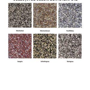 Tencuiala mozaicata pentru soclu Caparol Buntsteinputz este o tencuiala de soclu din piatra naturala pe baza de dispersie de rasini sintetice pentru acoperiri decorative de interior si exterior.