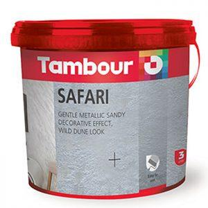 Tambour Safari - vopsea cu efect decorativ special