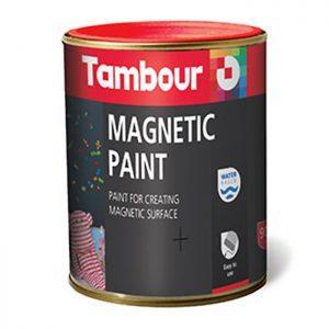 vopsea magnetica efecte decorative - Tambour magnetic paint