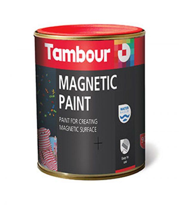 vopsea magnetica efecte decorative - Tambour magnetic paint