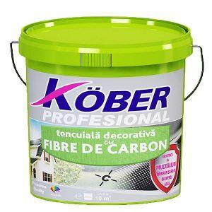 """tencuiala decorativa cu fibra de carbon """"bob de orez"""" Kober"""