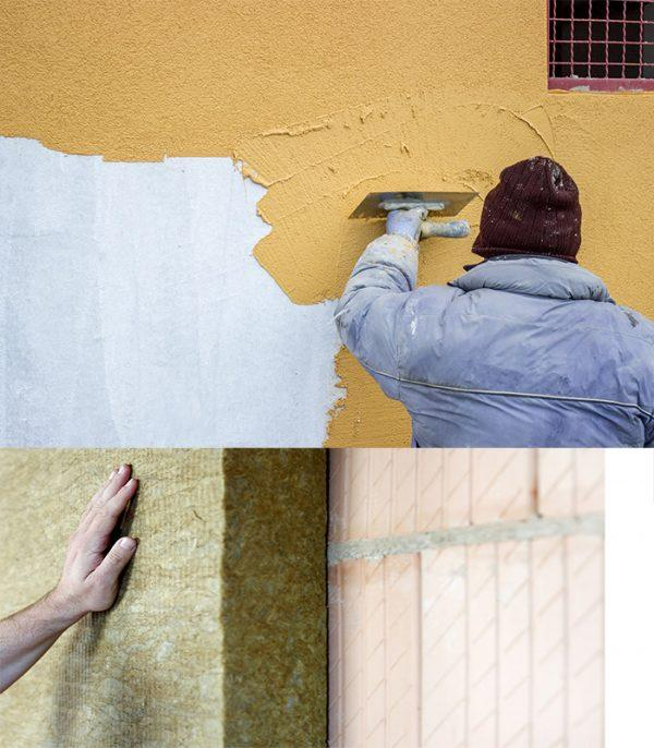 manopera termosistem; manopera sitem vata minerala; manopera termoizolatie; manopera tencuiala decorativa