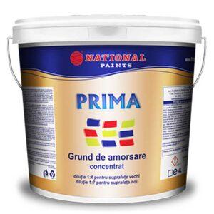 Grund de amorsare concentrat PRIMA 10L este alegerea ideală pentru pentru grunduirea suprafeţelor interioare şi exterioare, pentru amorsarea suprafeţelor absorbante în vederea reducerii şi reglării absorbției acestora.