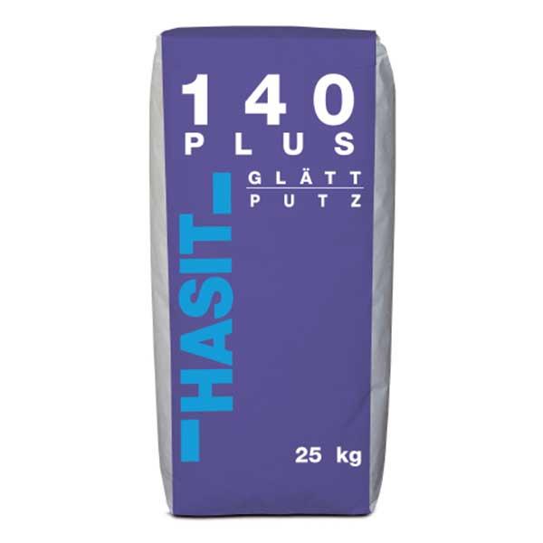 Tencuiala mecanizata glet cu perlita HASIT 140 plus este o tencuială glet pe bază de ipsos și var pentru aplicarea cu mașini de tencuit, la interioare.