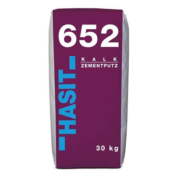 Tencuiala var ciment HASIT 652 este o tencuială pe bază de var ciment cu aplicare în unul sau mai multe straturi, la interior și exterior.