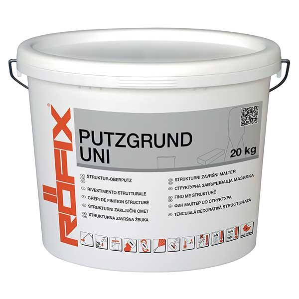 Amorsa tencuiala ROFIX Putzgrund UNI este un grund gata de utilizare. Grund universal pentru egalizarea şi hidrofobizarea suplimentară.