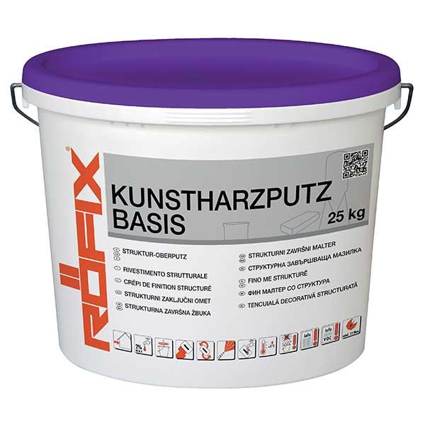 Tencuiala decorativa ROFIX KHP BASIS este o tencuială decorativă structurată, elastică, pentru faţade pe tencuieli suport şi sisteme termoizolante.
