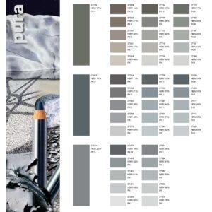 paletar culori tencuiala decorativa ROFIX silikon, silikat, acryl