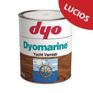 Lac lucios DYO Dyomarine alchidic este un lac protector pentru lemn pe baza alchidica, transparent, monocomponent cu aspect lucios pentru exterior.