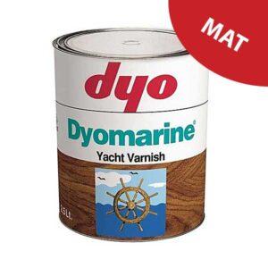 Lac mat DYO Dyomarine alchidic este un lac protector pentru lemn pe baza alchidica, transparent, monocomponent cu aspect semi-mat pentru exterior.