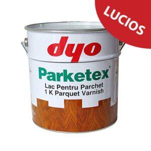 Lac parchet lucios DYO Parketex este un lac pentru parchet masiv, monocomponent, pe baza de rasina alchidica cu uretan. Produsul nu contine plumb.