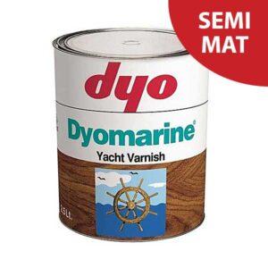 Lac semi-mat DYO Dyomarine alchidic este un lac protector pentru lemn pe baza alchidica, transparent, monocomponent cu aspect semi-mat pentru exterior.