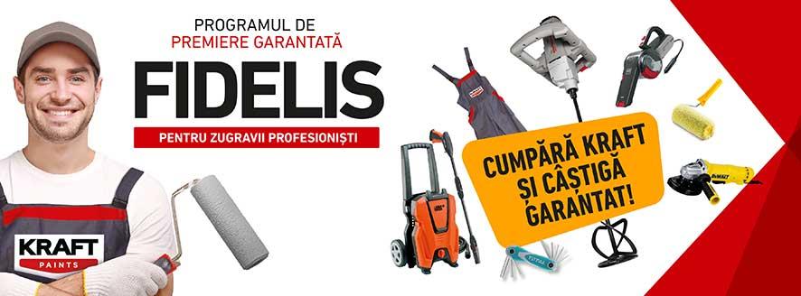 vopsele-tencuieli.ro program de premiere garantata Kraft Fidelis