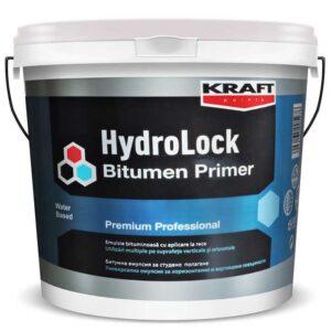 Amorsa hidroizolanta KRAFT Hydrolock Bitumen Primer este o emulsie bituminoasa pe baza de apa utilizata ca amorsa pentru hidroizolatii.
