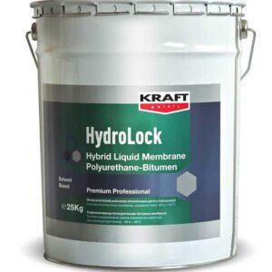 Hidroizolatie KRAFT HydroLock Hybrid LMPB este o hidroizolatie sub forma de membrana monocomponenta in forma lichida, poliuretanica si bitumioasa.