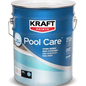 Vopsea KRAFT Pool Care este o vopsea monocomponenta mata, pe baza de solvent, care se aplica direct pe betonul din interiorul piscinelor.